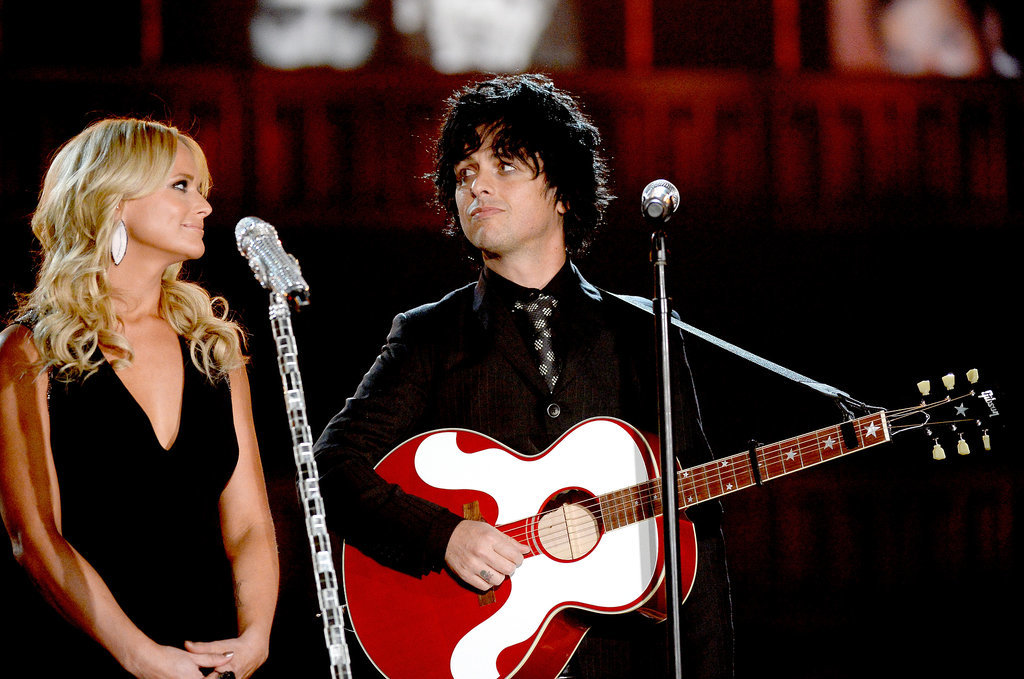 Billie Joe Armstrong and Miranda Lambert performed together.