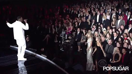 Taylor Swift Takes the Spotlight From the Audience
