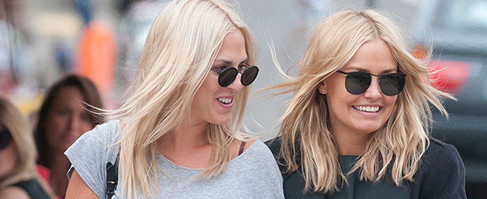 Lara Bingle and Friends Stock Up for Australia Day