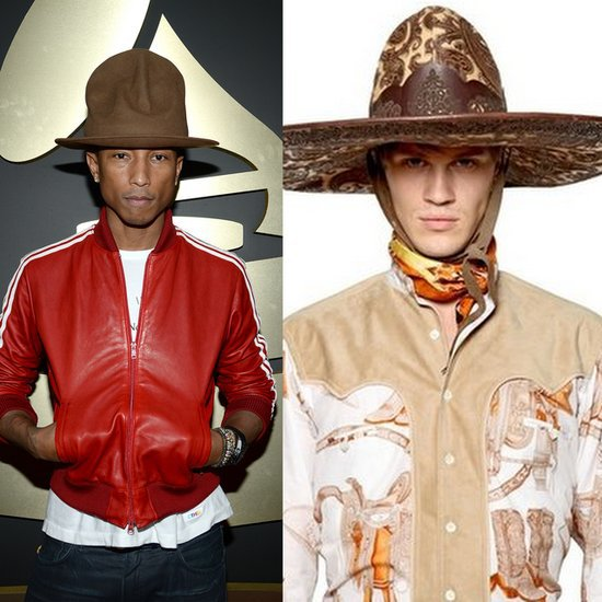 Mancrush Monday: Pharrell Williams's Hat at the Grammys