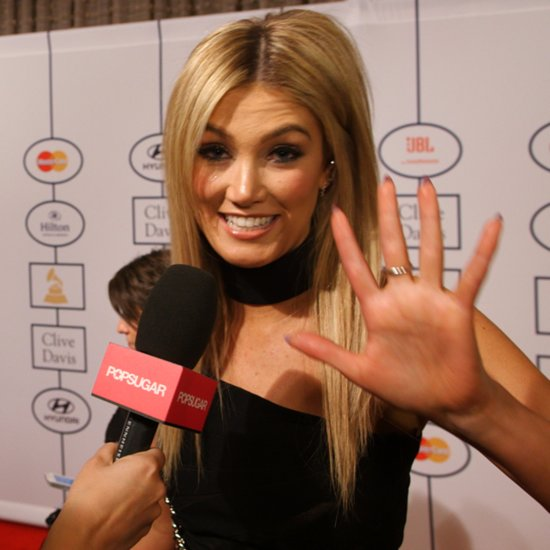 Delta Goodrem at Clive Davis Pre-Grammy Party | Video