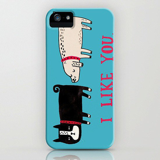 Any half of a fun-loving couple would appreciate this I like you phone case ($35).