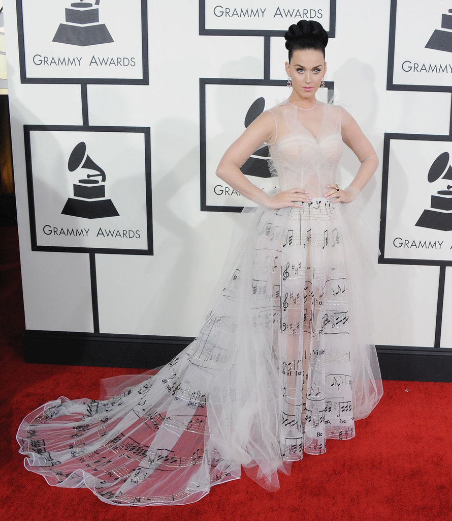 Katy Perry's Red Carpet Look
