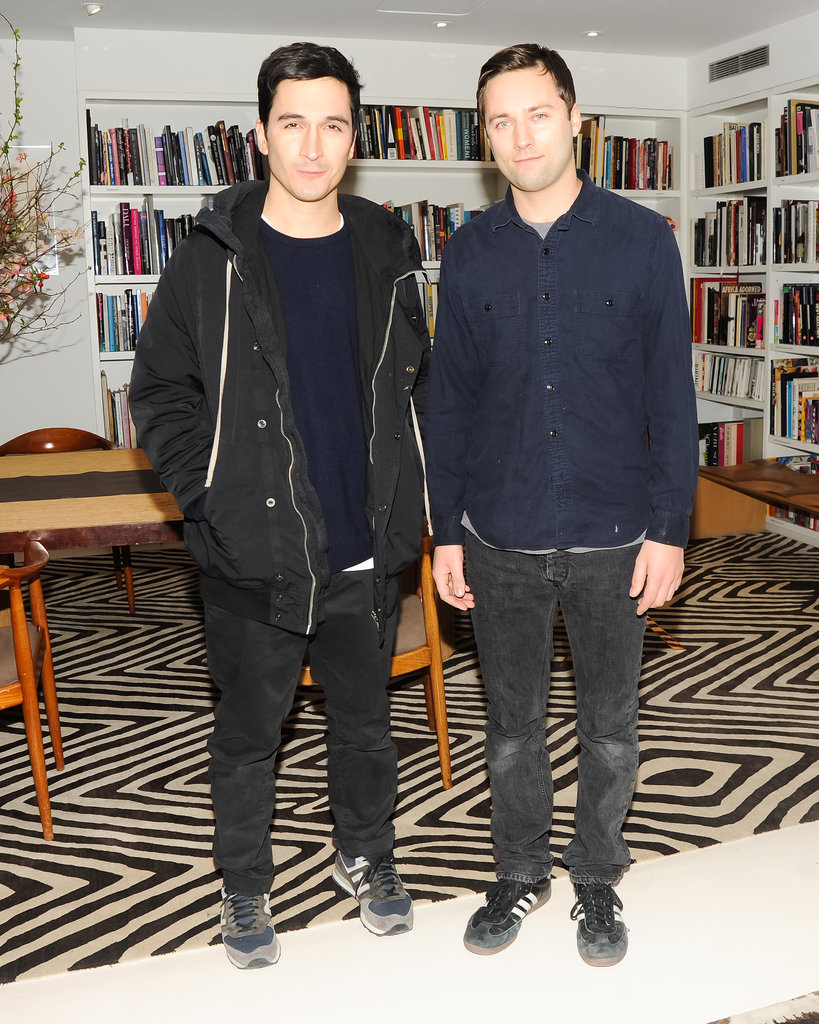 Lazaro Hernandez and Jack McCollough attended Diane von Furstenberg and the CFDA's bash for Marigay McKee.