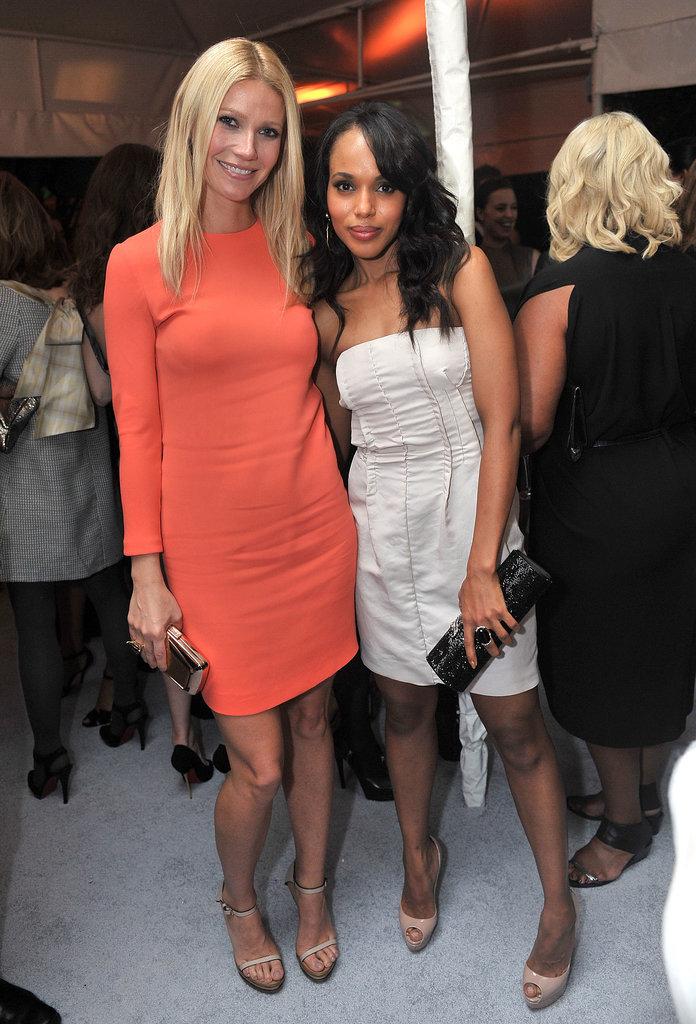 She and Gwyneth Paltrow Wear Similar Shoes