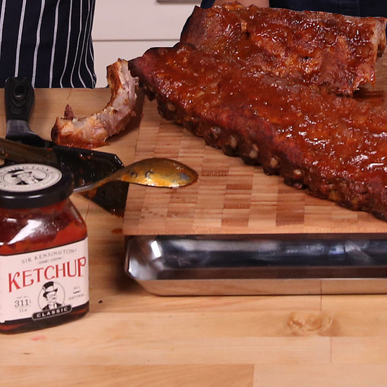 Freddy's Sticky, Saucy Barbecued Ribs