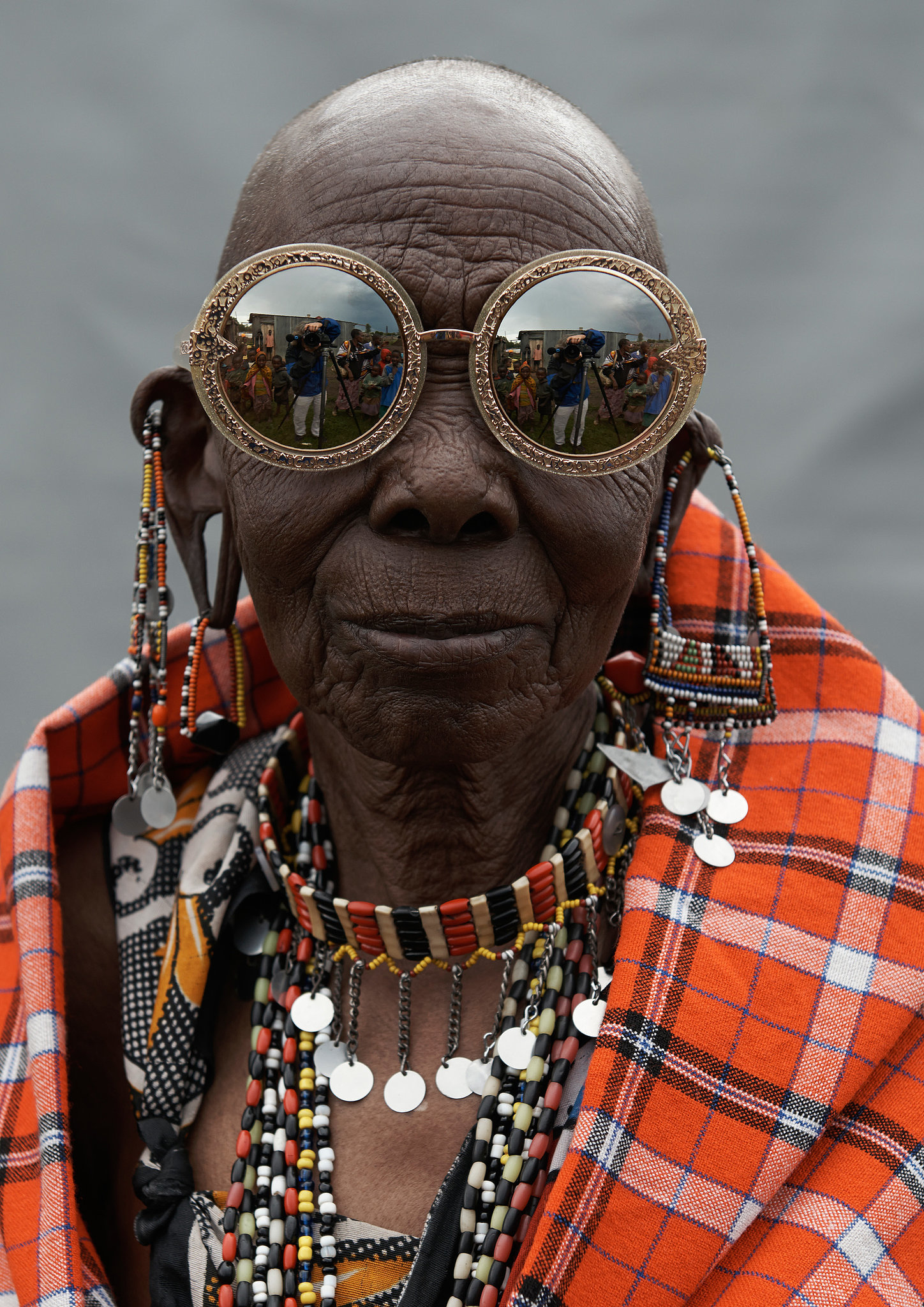 Бабка в очках 6 фотография
