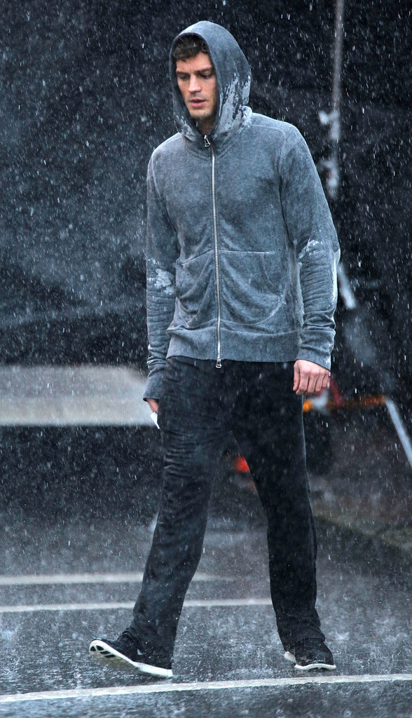 The Fifty Shades of Grey Reshoots Now Include Sexy Makeouts