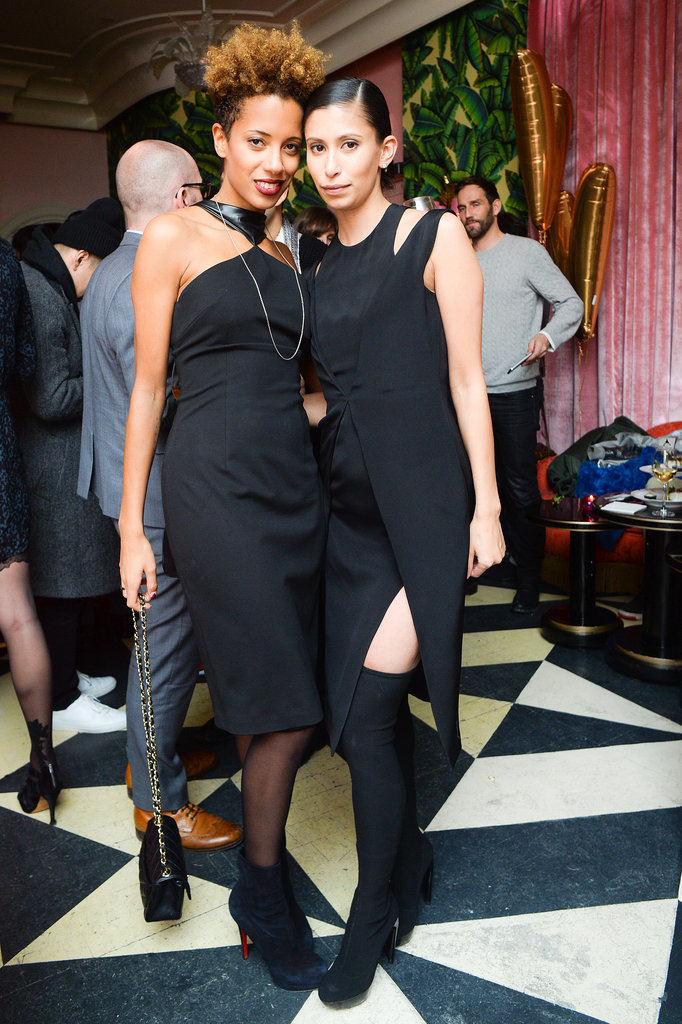 Carly Cushnie and Michelle Ochs at the Vensette Beauty on Demand app launch.