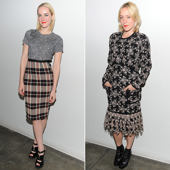 Jena Malone Plaid Skirt