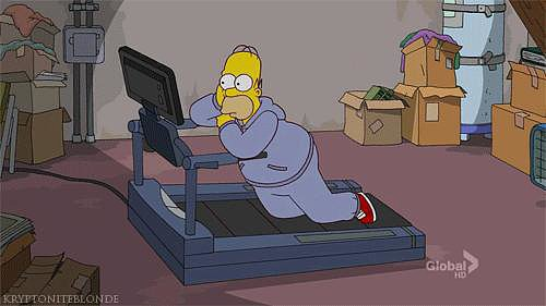 When You Plan Gym Time Around Your Favorite Show