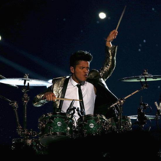 Bruno Mars Super Bowl 2014 Half-Time Show