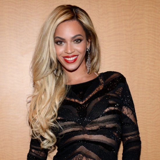 Beyonce With Really Long Hair at Her Super Bowl Performance