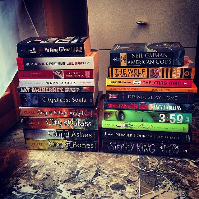 Alexlondon23 posted a pic of her January book haul.