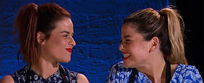 Twins Helena and Vikki Make the My Kitchen Rules History Books