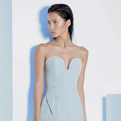 Designer Strapless Dresses