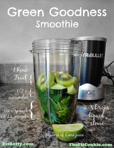 Drink the Rainbow: Green Goodness Smoothie
