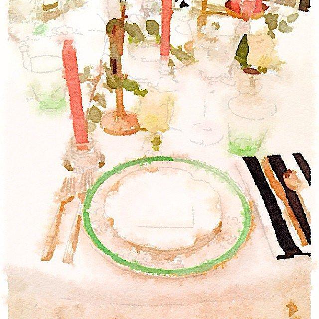 An Elegant Tablescape