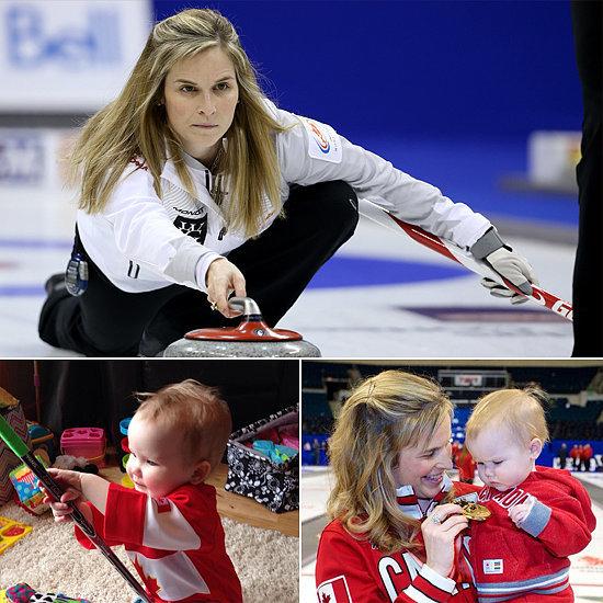 Jones Curling Baby Jennifer Jones — Curling