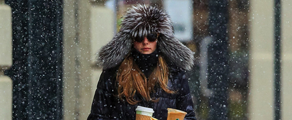Have You Ever Looked as Good as Olivia Palermo in a Storm?