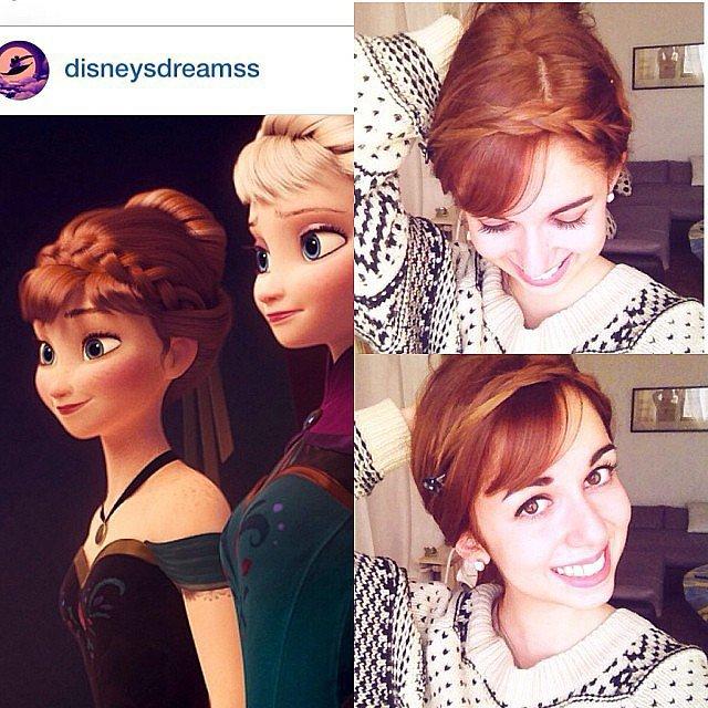 Anna's Coronation Hair