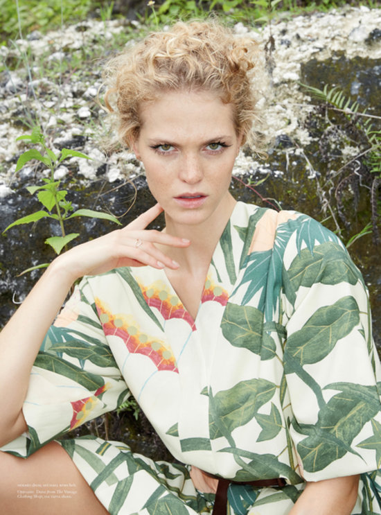 Erin Heatherton Poses in Bali For Russh Magazine