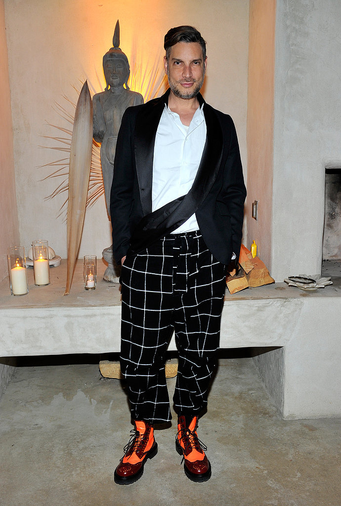Cameron Silver at Barneys' cocktail party for Irene Neuwirth's new fragrance in Venice, CA.