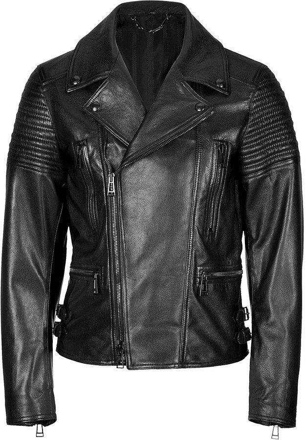 Belstaff Leather Kettering Biker Jacket ($2,485)