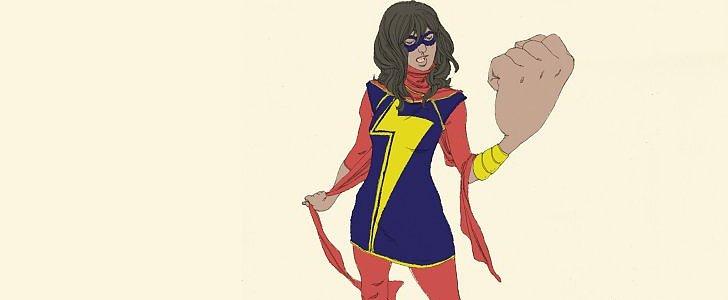 Introducing Ms. Marvel: The First Female Muslim Superheroine