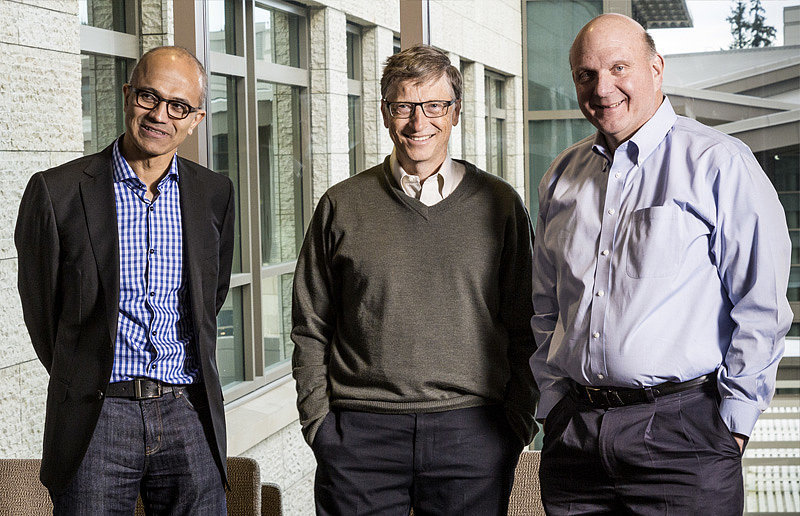 His Wingman? Bill Gates