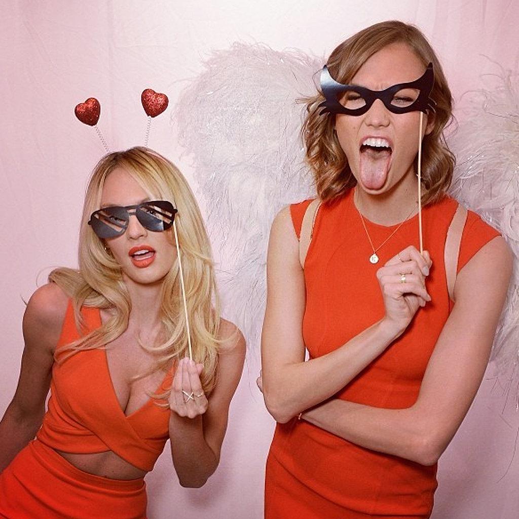 Karlie Kloss Celebrates Victoria's Secret Bombshell Day