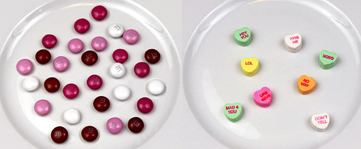 Photos Showing 100 Calories of Valentine's Day Candy