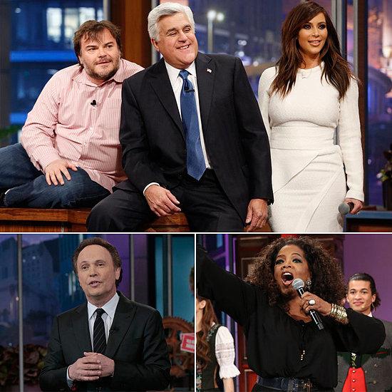 Oprah, Kim Kardashian, and More Bid Farewell to Jay Leno