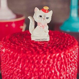 Vintage Kitty Cat Birthday Party Ideas