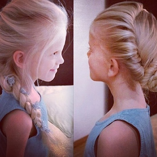 How to Do Your Hair Like Anna and Elsa From Frozen
