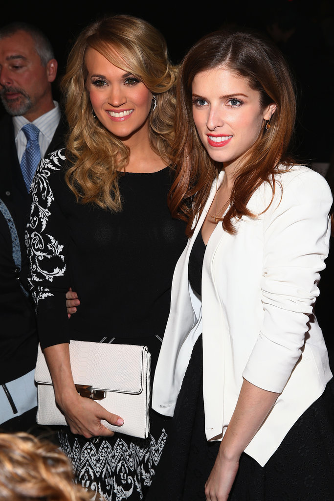 Carrie and Anna posed for a photo together.
