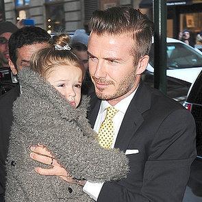 Victoria and David Beckham at New York Fashion Week 2014