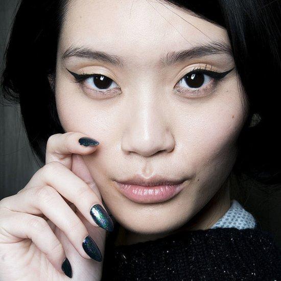 Winged Eyeliner Beauty Looks at New York Fashion Week