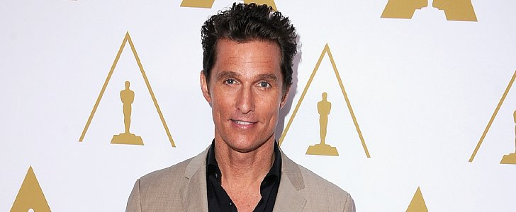 Matthew McConaughey Has a Fun Rule For Red Carpet Dressing