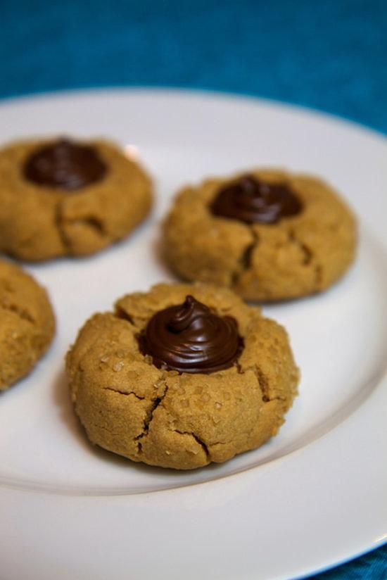 PB Kiss Cookies