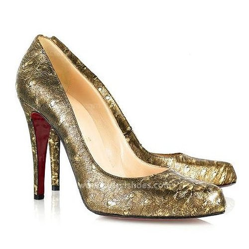 Decollete 100mm Ostrich Christian Louboutin Pumps Outlet