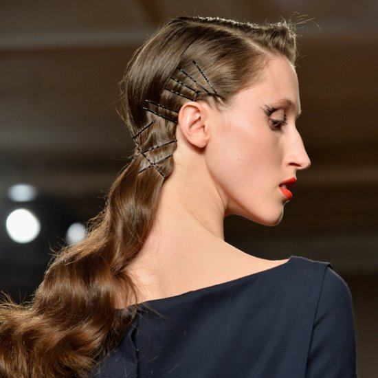 Zac Posen Fall 2014 Hair and Makeup | Runway Pictures