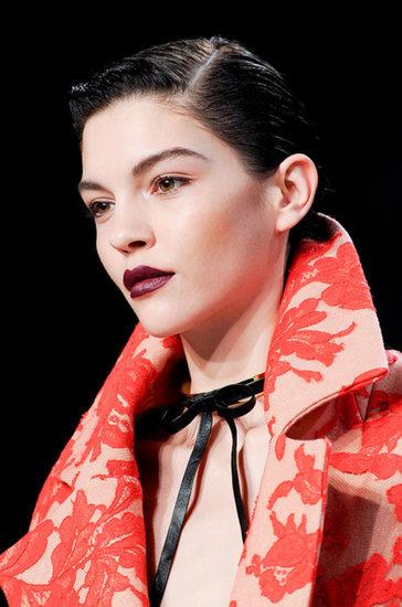 Dark Lipstick Trend Fall 2014 | New York Fashion Week