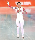 Speed Skater Wardrobe Malfunction at 2014 Winter Olympics