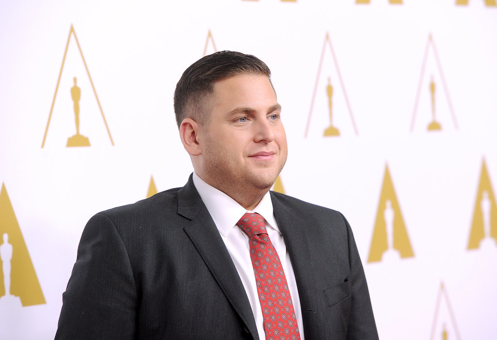 Jonah Hill got dressed up for the event.
