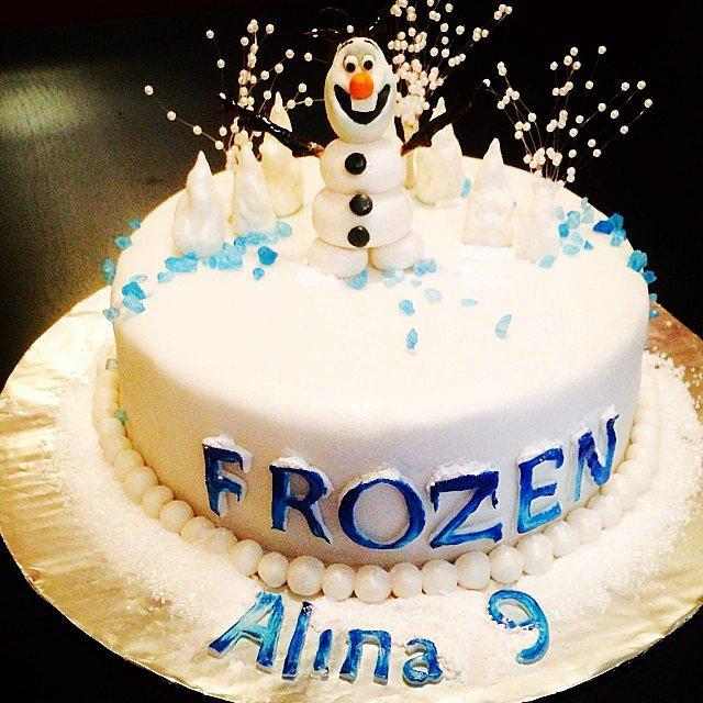 Birthday Cake Frozen Olaf