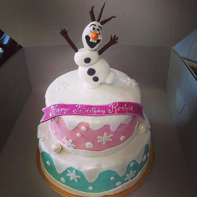 Cake Decoration Olaf : Hello, Olaf! Make It a Magical Day! 50 Wow-Worthy Disney ...