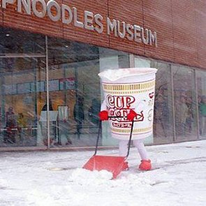 Can't Stop, Won't Stop This Cup Noodles