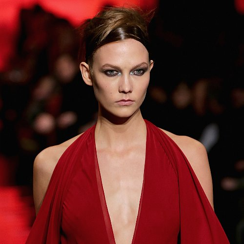 Donna Karan NY Fall 2014 Hair and Makeup   Runway Pictures