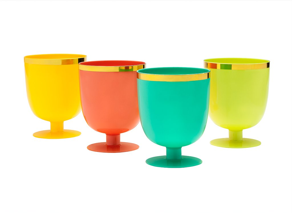 Goblet Cups ($4 for four)